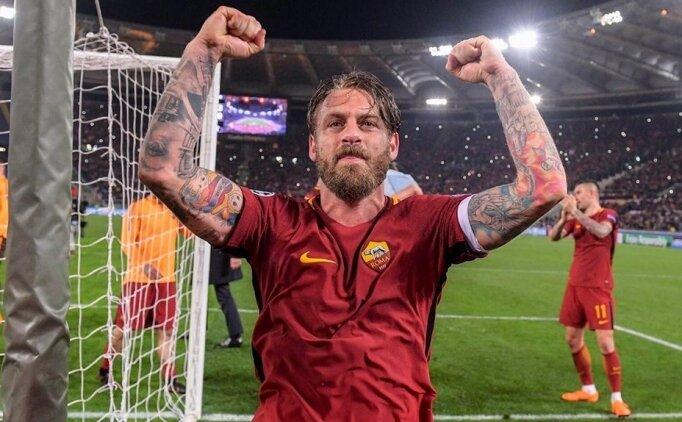 Daniele De Rossi, İtalya'da kalmak istiyor!
