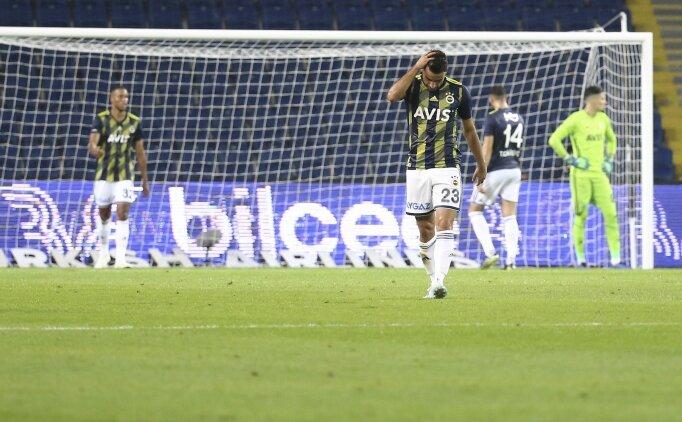 Fenerbahçe'nin şanssız 45 dakikası: 2 direk, 1 ofsayt