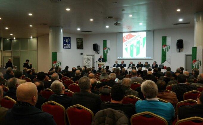 Bursaspor Divan Kurulu. 'En kısa sürede seçim'