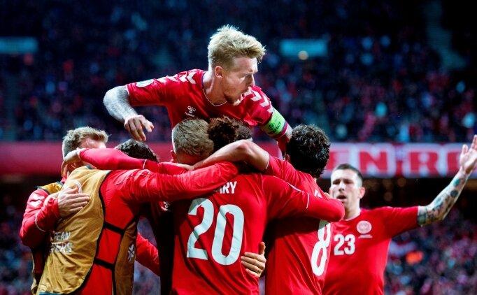 Danimarka son anlarda güldü