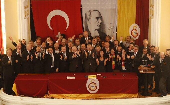 Galatasaray'da üyelik oyunları