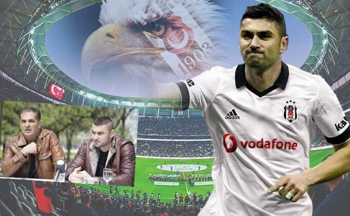 Burak Yılmaz'ın babası: 'Oğlum Beşiktaş'ta demedim'