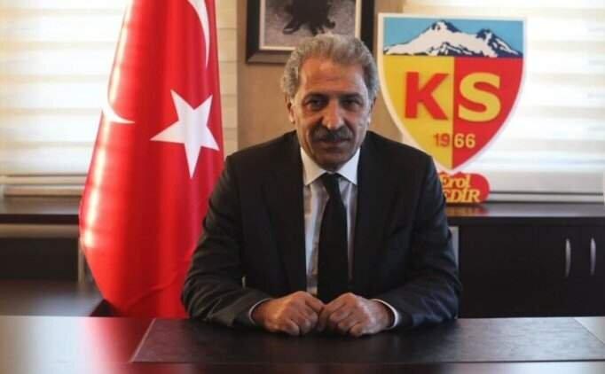 Kayserispor'dan TFF ve MHK'ye G.Saray göndermesi