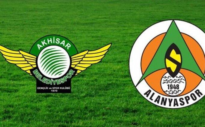 Akhisarspor Alanyaspor canlı hangi kanalda? Akhisarspor Alanyaspor maçı saat kaçta?