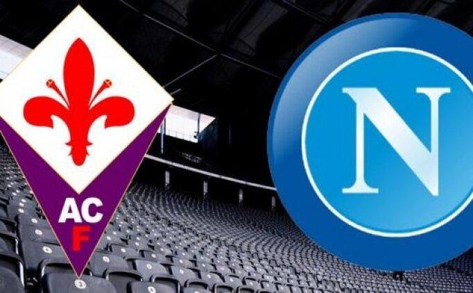 Fiorentina Napoli maçı canlı hangi kanalda? Fiorentina Napoli maçı saat kaçta?