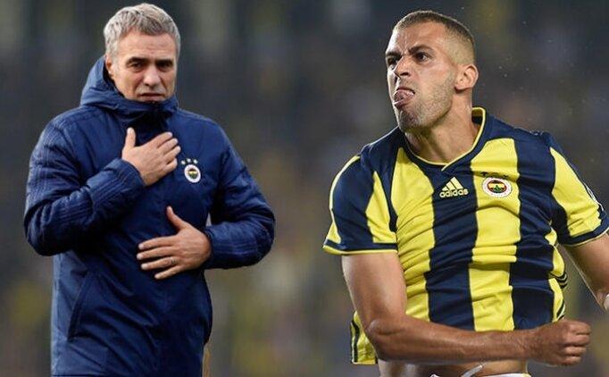 Ersun Yanal'dan Slimani'ye destek mesajı