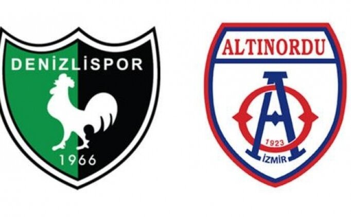 Denizlispor Altınordu maçı canlı hangi kanalda? Denizlispor Altınordu maçı saat kaçta?