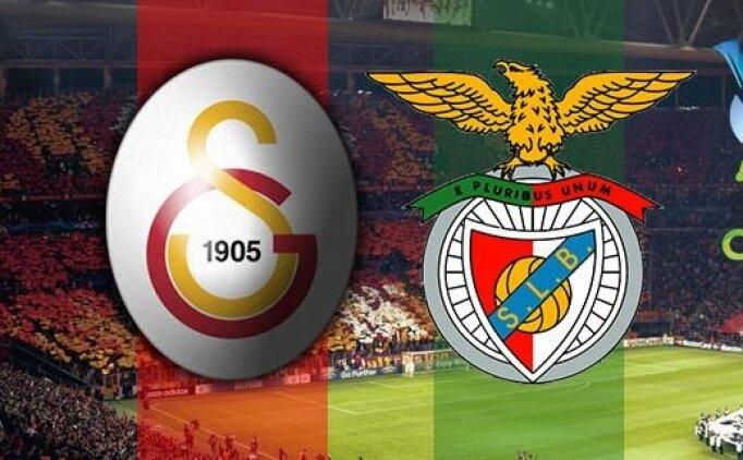 Galatasaray Benfica maçı canlı hangi kanalda? Galatasaray Benfica maçı saat kaçta?