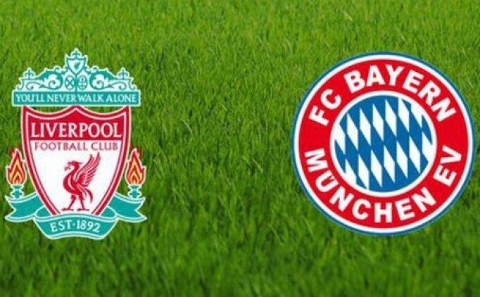 Liverpool Bayern Münih maçı canlı hangi kanalda? Liverpool Bayern Münih maçı saat kaçta?