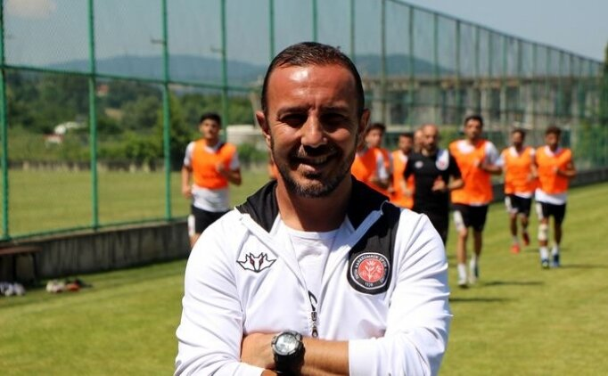 Cüneyt Dumlupınar: 'Hedefimiz Süper Lig'e çıkmak'