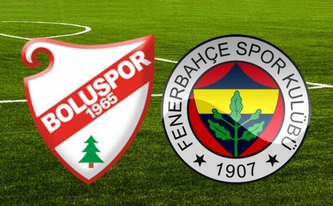 Fenerbahçe Boluspor maçı canlı izle, Fenerbahçe Bolu hangi kanalda saat kaçta?
