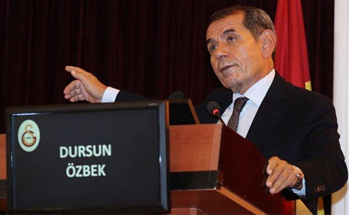 Dursun Özbek, her şeye haciz koydurdu!