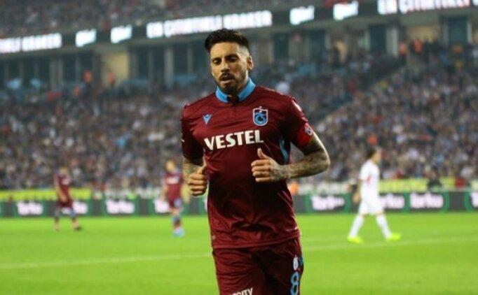 Trabzonspor'da biyonik kaptan Jose Sosa