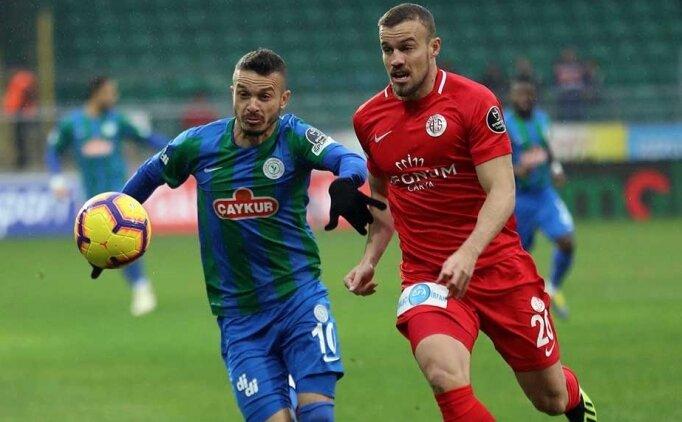 Bilyoner.com ile maç önü: Rizespor - Antalyaspor