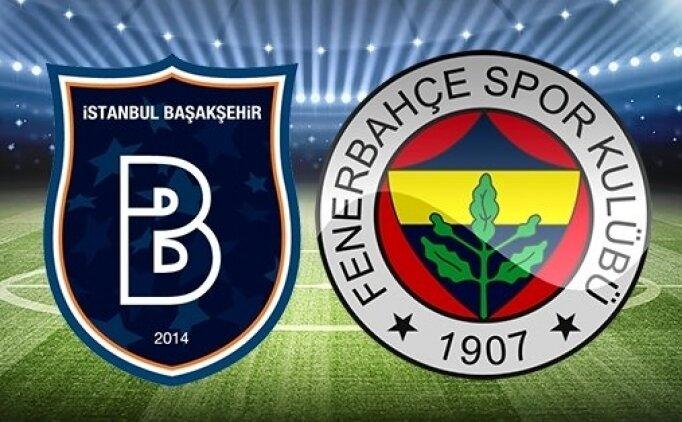 Başakşehir Fenerbahçe ÖZET  İZLE, Fenerbahçe Başakşehir golleri izle