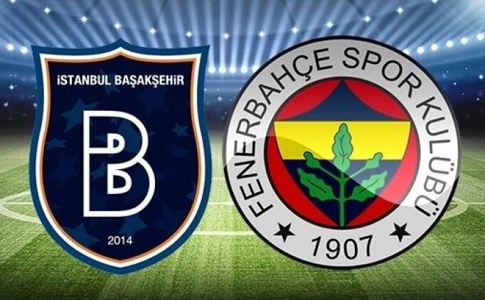 Başakşehir Fenerbahçe geniş özeti  izle, Başakşehir Fenerbahçe GOLLERİ İZLE