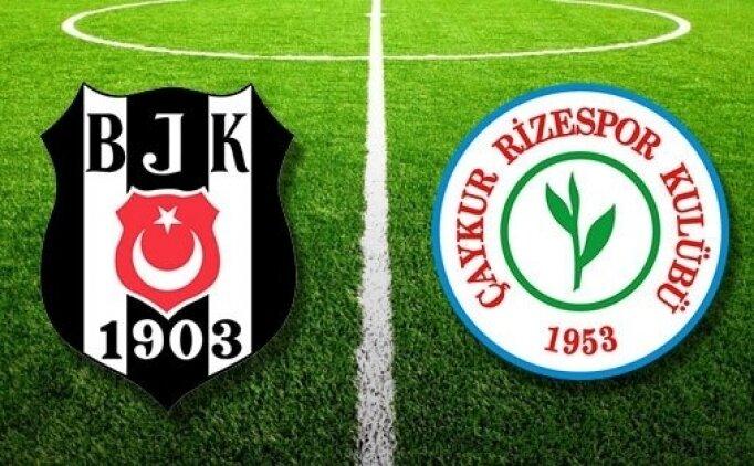 Beşiktaş Çaykur Rizespor maçı özet İZLE, Beşiktaş Çaykur Rizespor kaç kaç bitti?