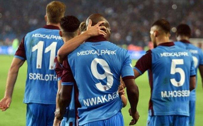 Trabzonspor'un en büyük kozu Nwakaeme
