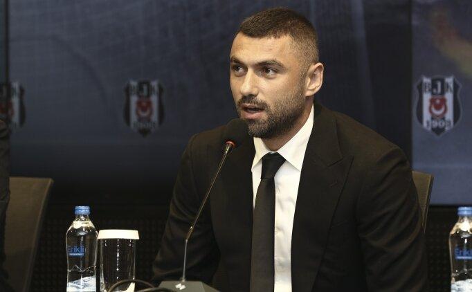 Burak Yılmaz: 'Aklımda ve kalbimde Beşiktaş vardı'