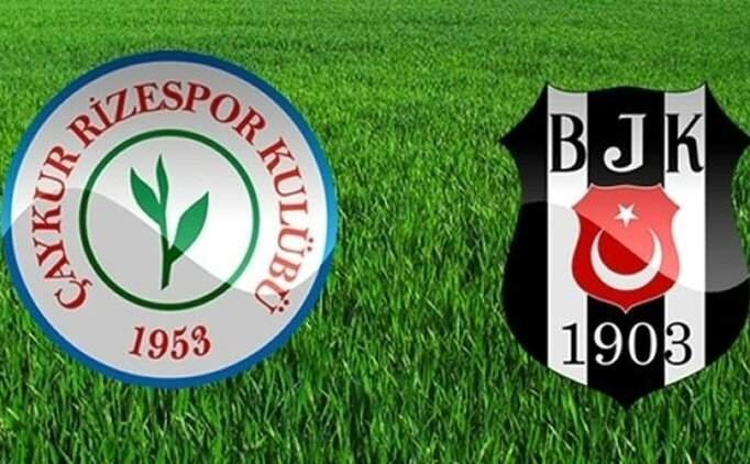 Rizespor BJK maçı özet izle, Çaykur Rizespor Beşiktaş