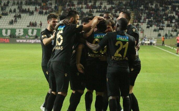 Haftanın kapanışını Yeni Malatyaspor yaptı