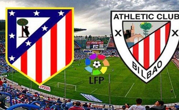 Athletic Bilbao Atletico Madrid canlı hangi kanalda? Athletic Bilbao Atletico Madrid maçı saat kaçta?