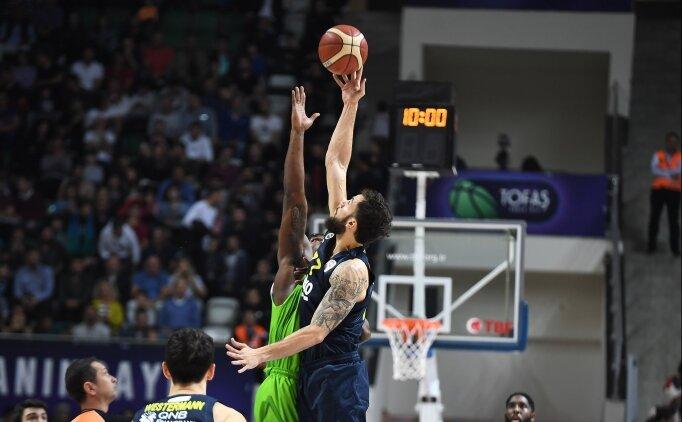 Fenerbahçe Beko, TOFAŞ deplasmanında yara sardı!