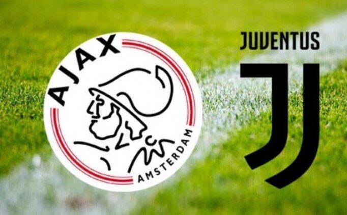 Juventus Ajax maçı canlı hangi kanalda? Juventus Ajax saat kaçta?