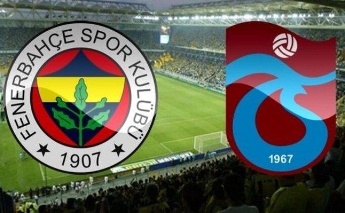 ÖZET Fenerbahçe Trabzonspor maçı golleri İZLE