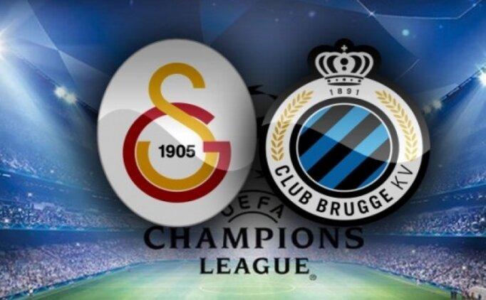 GS maçı özeti izle, Galatasaray Club Brugge maçı golleri