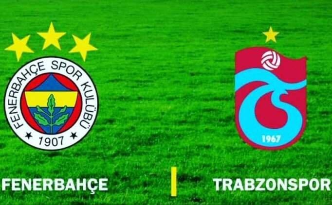 Trabzonspor - Fenerbahçe Maçı İzle