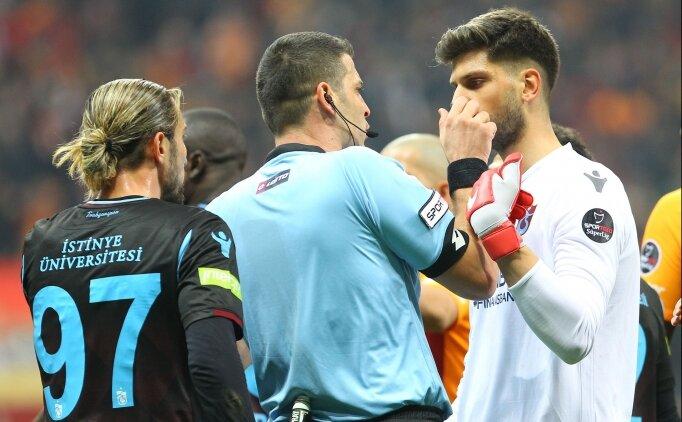 Trabzonspor'da hakem isyanı; 'Bu kininiz nedir?'