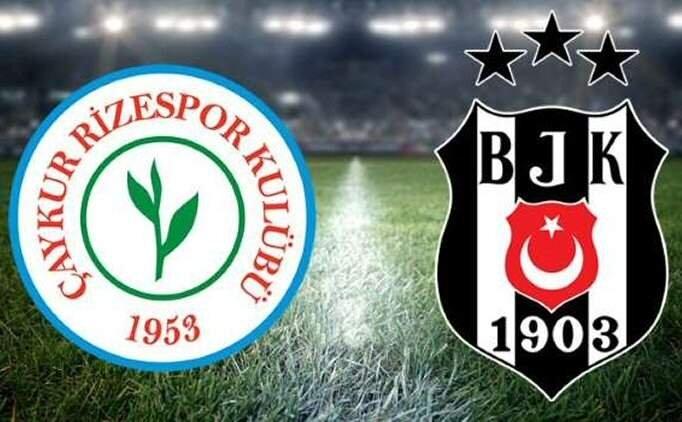 Çaykur Rizespor Beşiktaş ÖZET İZLE, Rizespor Beşiktaş maçı kaç kaç bitti?