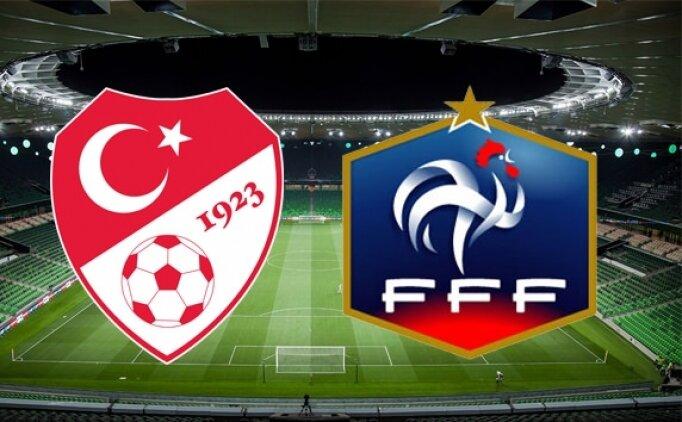 Bu akşam Türkiye Fransa maçı hangi kanalda? Milli maç saat kaçta?