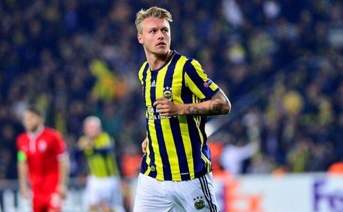Fenerbahçe'nin Simon Kjaer hayali