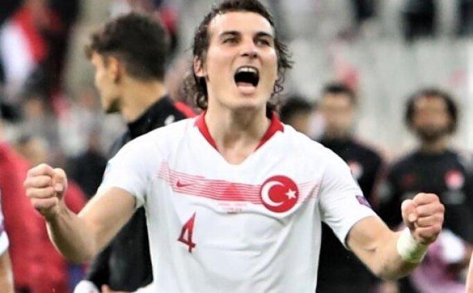 Çağlar Söyüncü: 'Ülkemiz EURO 2020'de olmayı hak ediyor'