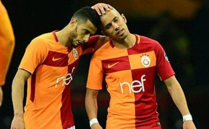 Galatasaray'ın güvencesi Belhanda ve Feghouli