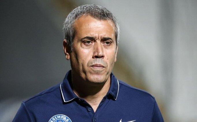 Teknik direktör Kemal Özdeş kırmızı kart gördü!