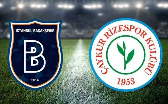 ÖZET: Başakşehir Çaykur Rizespor maçı geniş özeti, golleri, pozisyonlar
