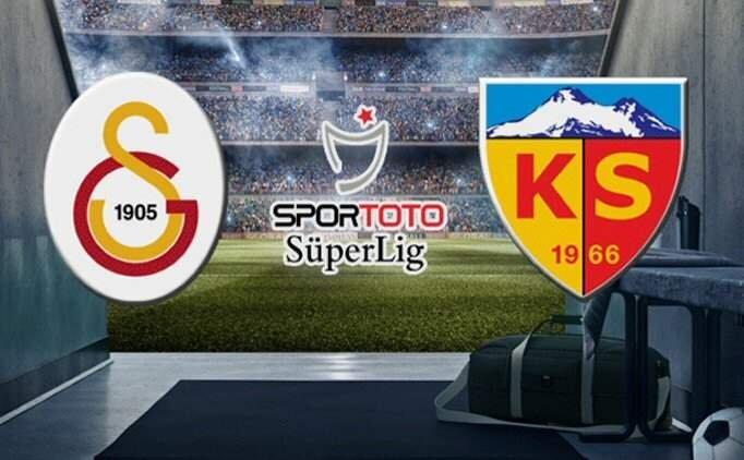 Galatasaray 3-1 Kayserispor maçı geniş özeti izle