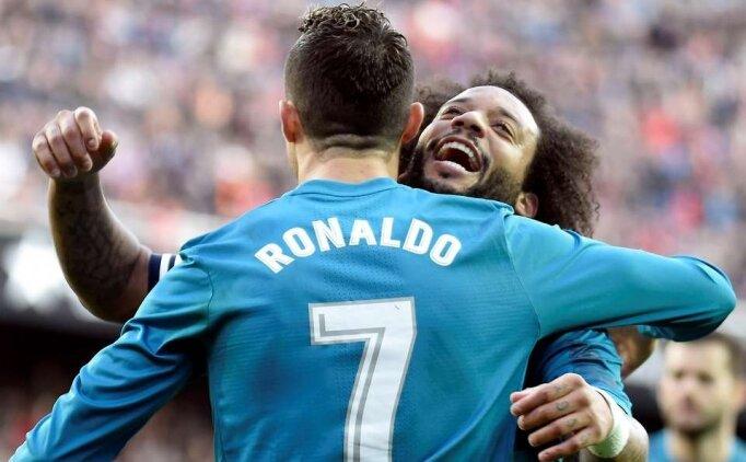 Marcelo: 'Cristiano bana 'Gidiyorum' demişti'