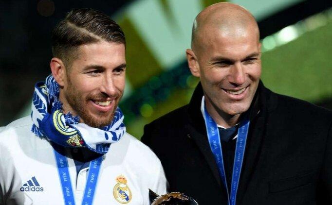 Sergio Ramos ayrılığına Zidane engeli!