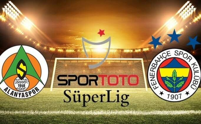Alanyaspor - Fenerbahçe maçı özet ve golleri izle (bein sports)