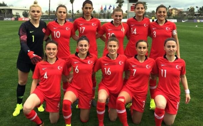 A Milli Kadın Futbol Takımı'nın rakibi Moldova