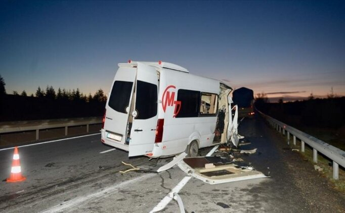 Bursaspor'dan kaza yapan taraftarlarına 'geçmiş olsun' mesajı