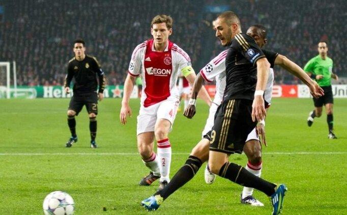 Ajax Real Madrid maçı canlı hangi kanalda? Ajax Real Madrid maçı saat kaçta?