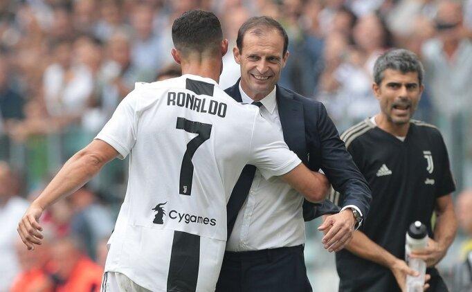 Allegri: 'Ronaldo, Juventus'un geleceği'