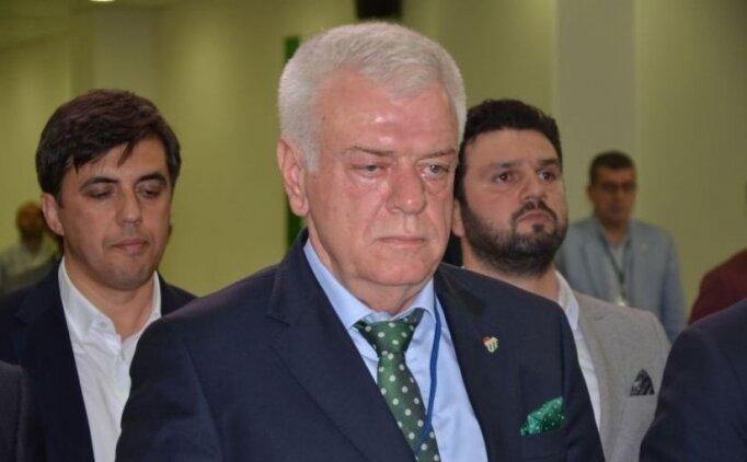 Bursaspor'un eski başkanı Ali Ay'a ibra şoku