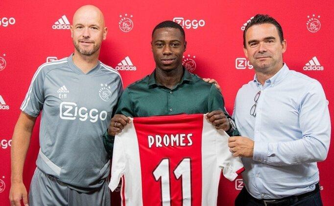 Ajax, Promes'u transfer etti