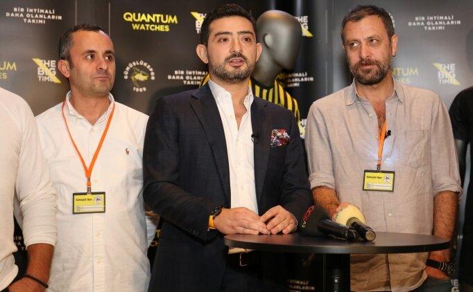 Serdar Arıkan: 'Büyük anların sponsoru olmaya devam edeceğiz'